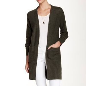 360 Cashmere Clodelle Long Cardigan with Pockets